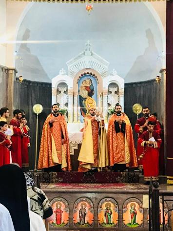 Զմմառու Պատրիարքական Կղերի Միաբանութեան Փոխանորդի այցելութիւնը Հայաստան