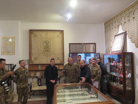 UNIFIL-էն Պատուիրակութիւն մը Զմմառ կ՛այցելէ
